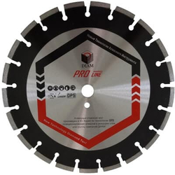DIAM Асфальт ProLine 030633 1A1RSS алмазный круг для асфальта 500мм Diam По асфальту Алмазные диски