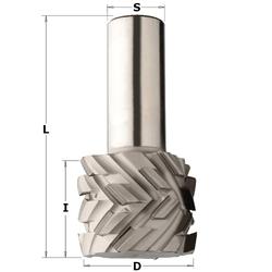 Фрезы алмазные DP с аксиальным углом режущей грани 40° CMT Алмазные PCD Фрезы по дереву