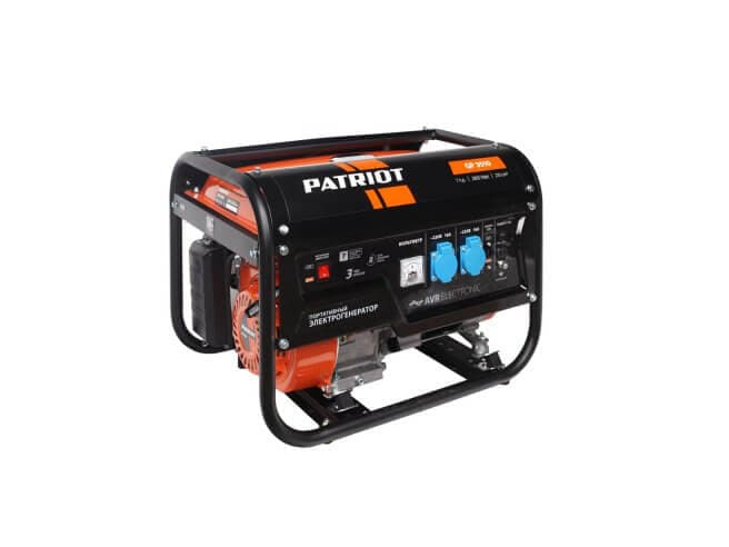 Patriot GP 3510 Генератор бензиновый Patriot Бензиновые Генераторы