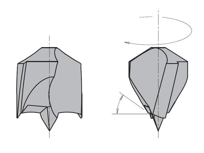 L=105 S=Ø10x30 Глухие свёрла CMT Свёрла и зенкеры Инструмент