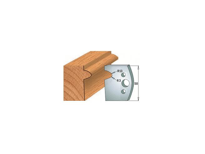 Комплекты ножей и ограничителей серии 690/691 #516 CMT Ножи и ограничители для фрез 50 мм Ножи
